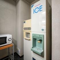 電子レンジ、製氷機、給湯器