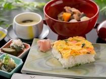 岩国寿司定食
