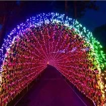 虹龍の光の大トンネル【正面】
