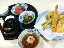 夕食 天ぷら定食