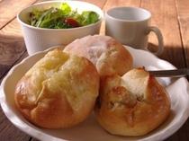 朝食パンセット(780円/1人前)