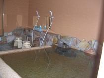 露天風呂付の男女別浴室