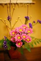 お部屋の生け花