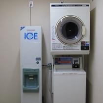 館内・5F製氷機&コインランドリー