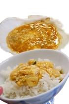 朝食 郷土料理「貝焼きみそ」