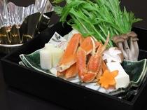 冬に最適「ずわい蟹鍋」