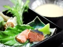 秋鮭粕味噌鍋