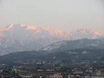 雄大な立山連峰