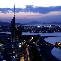 夜景イメージ(福岡タワー側)