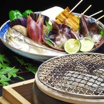*宮津名産【とり貝】。当館では刺身のほかに、炙り焼きでもお楽しみ頂けます。