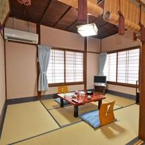 *【和室6畳 バス・トイレ付1】一例。木造のしっとりとした雰囲気、日本建築をお楽しみください。
