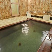 *【女湯2】天然温泉【ピント湯】です。含硫黄ナトリウム塩化物泉でお肌にいいと人気です。
