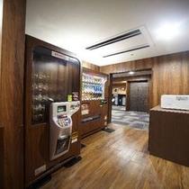 ◆ドリンク自販機、電子レンジ(8階)