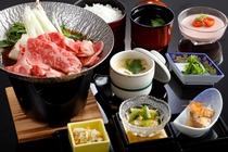 松阪牛の牛鍋