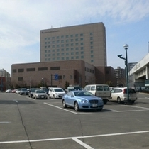 エリア最大級の駐車場
