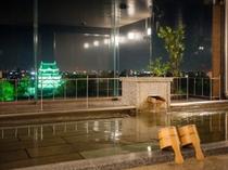 ライトアップ岡崎城
