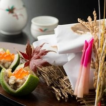■秋のお料理一例