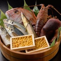 ■新鮮な魚介類をご用意