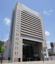 神戸 西神オリエンタルホテルを最寄の西神中央から見たところ