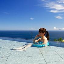 熱川プリンスは「リボン宿ネット」加盟施設です。湯浴着を着てのご入浴が可能です。