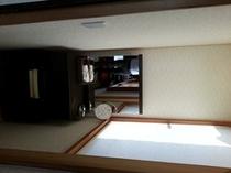和室12畳パウダースペース