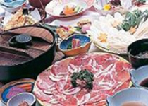 豚しゃぶ料理一例