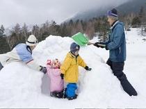 楽しい雪遊び♪♪