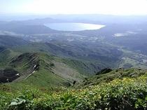 駒ケ岳からの田沢湖眺望