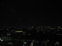 お部屋からの都心側の夜景