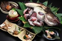 寒鱈の膳(料理一例)