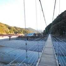 *川根両国つり橋