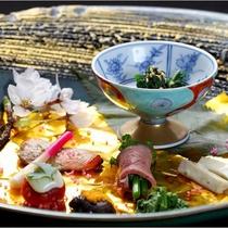 別館『はせを亭』の会席料理一例