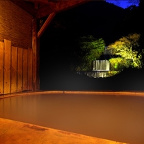 露天風呂 滝見の湯
