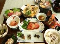 下田の定番!金目の煮付けを和食メニューでご賞味ください(一例)