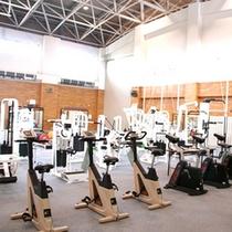 *アスリートヴィレッジ内のトレーニング室