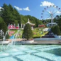 *上山市内の遊園地、リナワールド