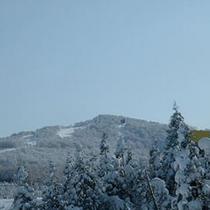 *冬景色/山々も雪化粧♪