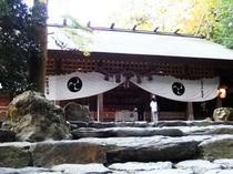 椿大社本殿