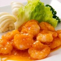 ■レストラン華月■ 海老のチリソース