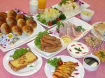 朝食バイキング洋食パターン