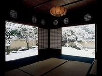 冬の足立美術館