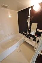 バリアフリーの浴室