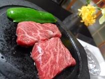 【ご夕食】高千穂牛の石焼