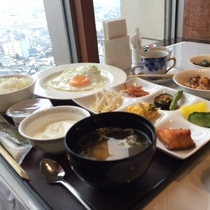 朝食【バイキング】