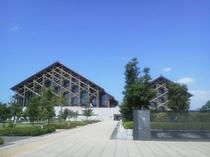 愛媛県武道館(松山中央公園)