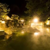 楠湯殿の露天風呂イメージ