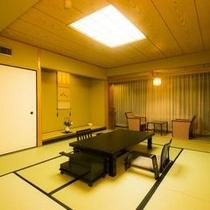 本館・游彩の時季フロア 上層階和室タイプの客室イメージ
