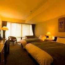 本館・洋室ツインベッドの客室イメージ