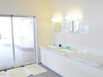 【洗面所】清潔に保たれた洗面所です
