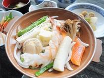【ご夕食一例】海鮮陶板焼